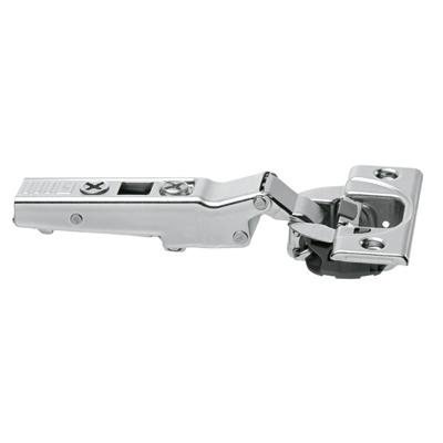 Blum Cliptop Blumotion overlay angled hinge -15° III, screw-on - 79B3453