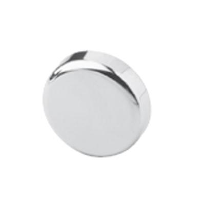 BLUM Glass door hinge boss cover cap, round:  Chrome