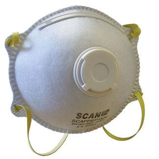 Scan Moulded Disposable Mask Valved FFP1 Protection (3)