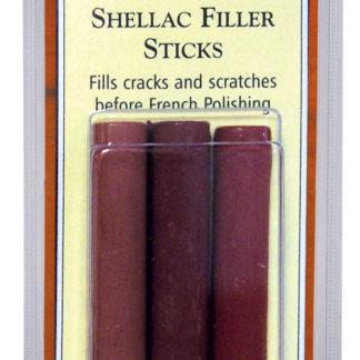 Liberon Shellac Filler Stick Standard Tin of 10