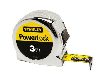 Stanley Tools Powerlock Classic Tape 3m Metric Only (Width 19mm)