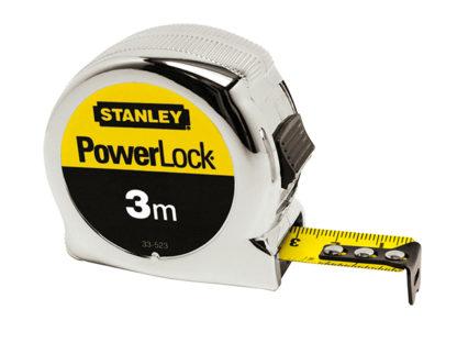 Stanley Tools Micro Powerlock Tape 5m (Width 19mm)