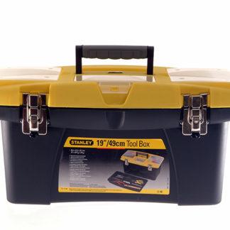 Stanley Tools Jumbo Toolbox 16in + Tray