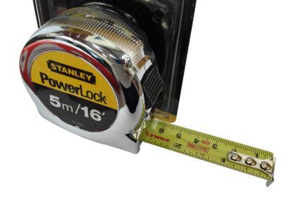 Stanley Tools Micro Powerlock Tape Measure 5m / 16ft