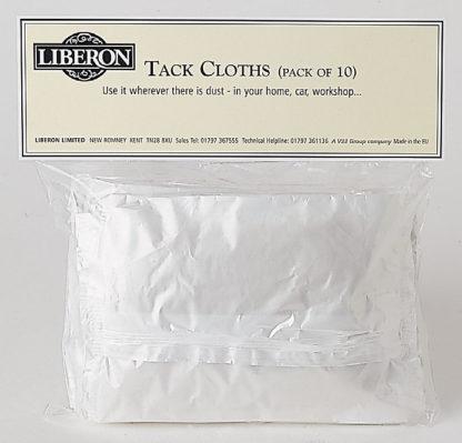 Liberon Tack Cloth   pack of 10