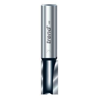 Trend Two flute cutter 12mm diameter : TR12X1/4TC