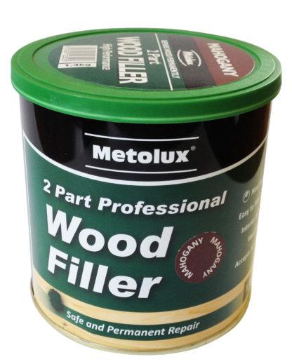 Light Oak Two Part High Performance Wood Filler 770ml With Hardener