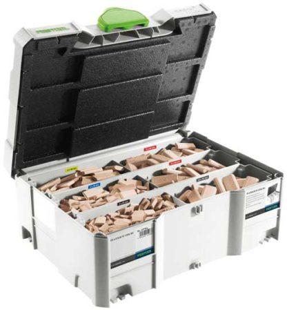 Festool 498899 DOMINO Assortment DS 4/5/6/8/10 106 1060 Pieces