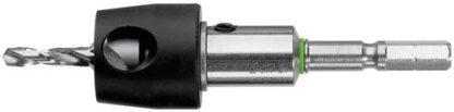 Festool 492523 3.5mm Drill Countersink With Depth Sto