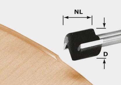 Festool 491666 Edge trimming cutter HW HW D 19/16 S8 OFK 700