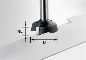 Festoo 500368l Carbide Facing Cutter