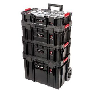 Trend Storage Compact Cart Set 4 Piece