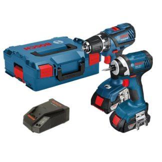 Bosch 18V Light Combi + Impact Twin Pack