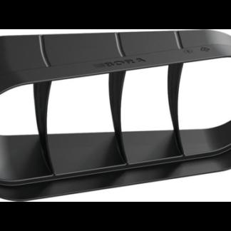 BORA Ecotube Bend 15° Flat Horizontal Incl. Sealing Material