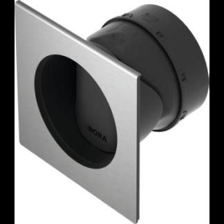 BORA 3 Box Wall Sleeve Round Short Incl. Sealing Material