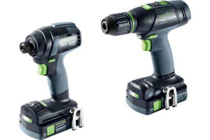 Festool TID Impact & Drill Driver Set With 2 x 3.1Ah Batteries