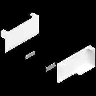 BLUM AVENTOS HK stay lift, cover cap set, left/right: 20K8000 Silk White