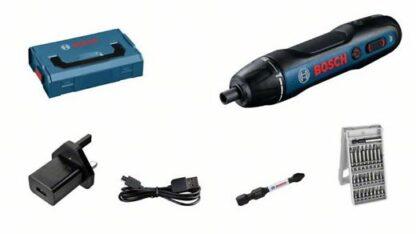 Bosch GO Pro. Screwdriver + accessories