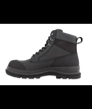 "Carhartt F702903 Detroit 6"" S3 Work Boot Black"