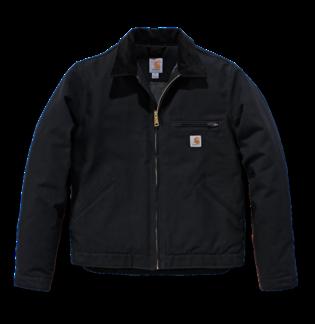 Carhartt 103828 Duck Detroit Jacket Black