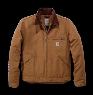 Carhartt 103828 Duck Detroit Jacket Carhartt® Brown