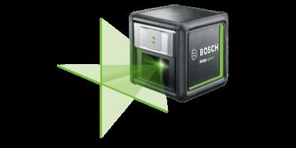 Bosch DIY Green Cross Line Laser & Mount