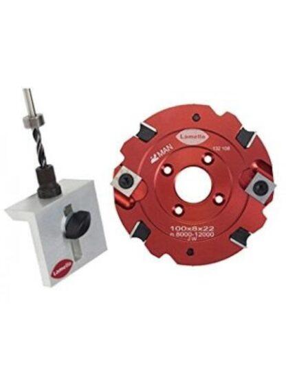 Lamello Clamex S-18 Jig & Cutter Set