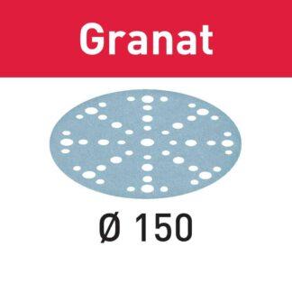 Festool Sand Sheet Granat 220Dia 150G Pk100