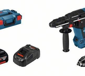 Bosch GBH 18 V-26 F6 SDS Brushless Rotary Hammer Drill + Quick Chuck 2 x 6.0ah