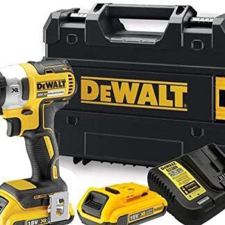 Dewalt 18V Impact Driver Li-On 2x2ah batteries, charger and case