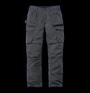 Carhartt 103337 Steel Multipocket Pant Black W34 L30