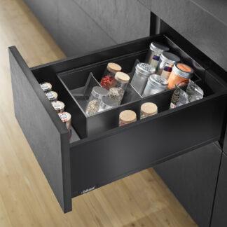 Blum Legrabox Kits Terra Black